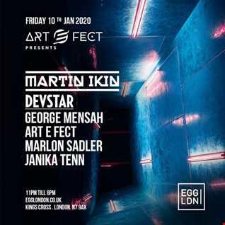 Marlon Sadler @ Art E Fect - Egg London. Friday 10th Jan 2020