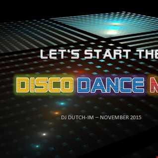 LET'S START THE DISCO DANCE!