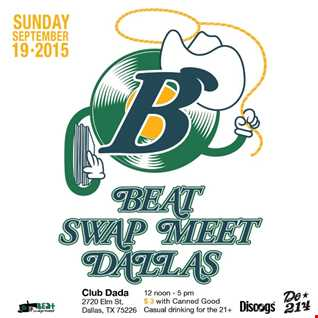 Jon Wang   100% ALL Vinyl DJ Set From Beat Swap Meet 4 @ Club Dada in Deep Ellum, Dallas Tx. 9.20.2015   2pm