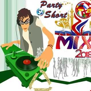 Fussball WM 18 Party Short Mix