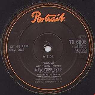 NICOLE & TIMMY THOMAS - NEW YORK EYES (Ronnie De Michelis Re Edit Regroove)