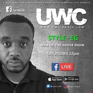 #ManOfTheHouse on UWC-Radio 01/09/2018
