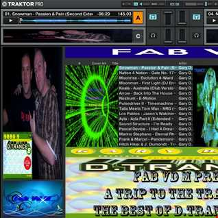 Fab vd M Presents A Trip To The Trance World The Best Of D.Trance 8 Remixed