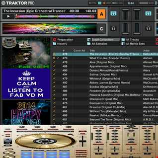 Fab vd M Presents A Trip To The Trance World 2013 Year Mix (Studio Version)