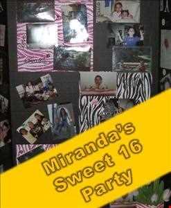 Miranda's Sweet 16