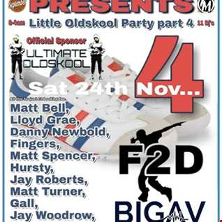 little old skool party 4 24/11/18