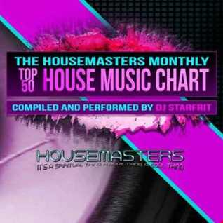August's Housemasters radio monthly top 50 house music chart