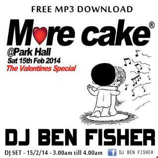 Ben Fisher LIVE @ MORE CAKE - Park Hall - Chorley - 15/2/14
