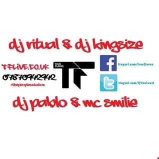 @DJ_KingSize & DJ Ritual / DJ Pablo / MC Smilie #UKG #BASS - TFLIVE.co.uk 15-3-16
