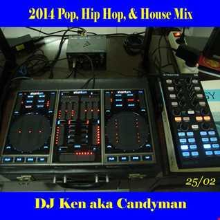 2014 Pop, Hip Hop, & House Mix