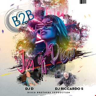 Joy of Disco b2b session 2021 DJD & DJ Senseless