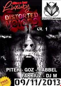Live @ Distorted Voices (Bergamo - Italy) (Hardcore - Industrial) [09-11-2013]