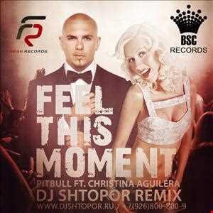 Pitbull feat. Christina Aguilera   Feel This Moment (DJ Shtopor Remix)
