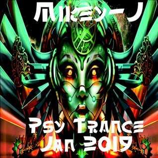 Psy trance mix Jan -19