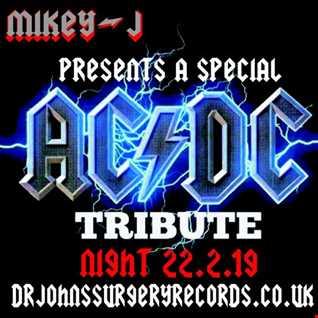 Surgery Records Radio friday rock show Bon Scott Tribute 22 2 19