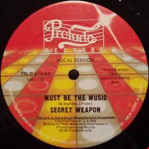 Secret Weapon   Must Be The Music (DJ Freddy Intro) Low Quality
