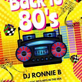 DJ RONNIE B 80S MIX