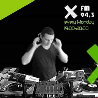 Broadcasting from X fm 94.3 Athens