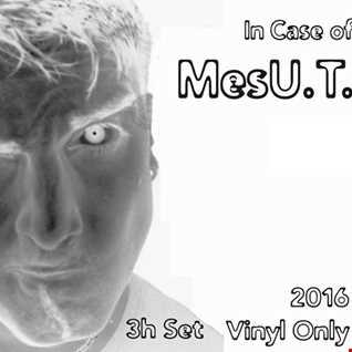 MesU.T. - In Case of 2016 - Vinyl Only