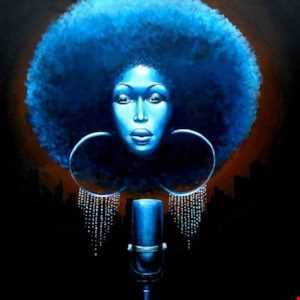 Afro Blu In My Spaceship Coupe
