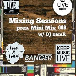 DJ zamR - Mixing Sessions pres. Mini Mix 008