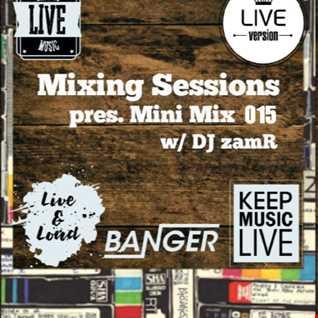 DJ zamR   Mixing Sessions pres. Mini Mix 015