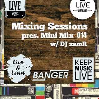 DJ zamR   Mixing Sessions pres. Mini Mix 014