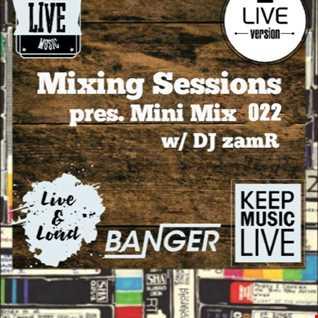 DJ zamR   Mixing Sessions pres. Mini Mix 022