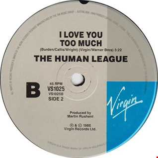 I Love You Too Much (E/Mix Re-Edit) by The Human League