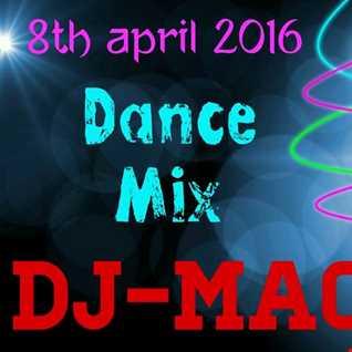 DJ-Mac - Dance Mix - 30 min (8th April 2016)