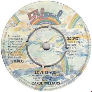 Carol Williams   Love Is You (John Birbilis Edit)