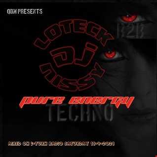 DJ Loteck & DJ Nissy B2B - Pure Energy aired on I-Turn radio