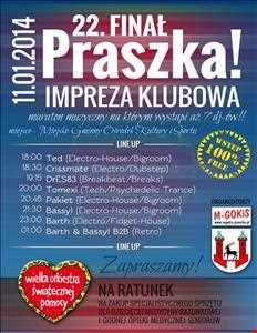 Crissmate  Noc Klubowa z WOSP w Praszce