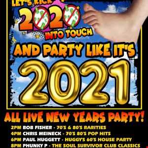 The All Live New Year Party With Your Host DJ Bob Fisher On Oldies Online