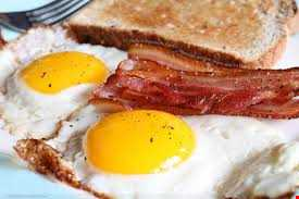 Egg on Toast with a Side of Bacon  - Jazz & Milk Records Special