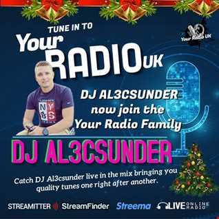 DJ AL3CSUNDER Live in the mix on Your Radio UK 2020 12 03