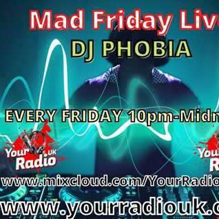 DJ Phobia Mad Friday 26 03 2021