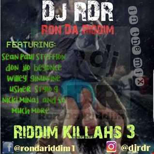 Dj RDR   Riddim killahs 3.