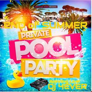 DJ 4EVER mixing Live August 15th 2015 at End of Summer Private Pool Party in Chicago IL.  USA