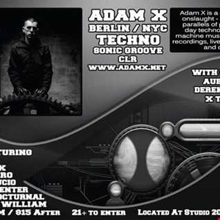 Opening set for Adam x @ studio 200