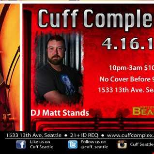 Furnace live at Cuff Complex DJ Matt Stands 4.16.16