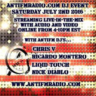 07 02 16 AntifmDJ Event - DJ Nick Diablo