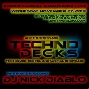11 27 13 Techno Decks