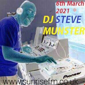 Saturdays Show On Sunrise 88.75fm 6th March 2021