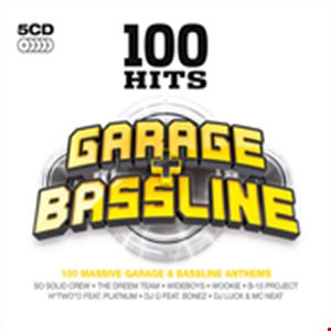 34 tracks chosen from the -- 100 Hits Garage & Bassline  2010 album