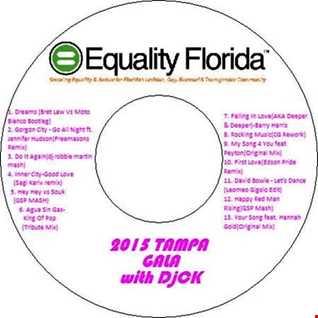 2015 Tampa Equality Gala with DjCK