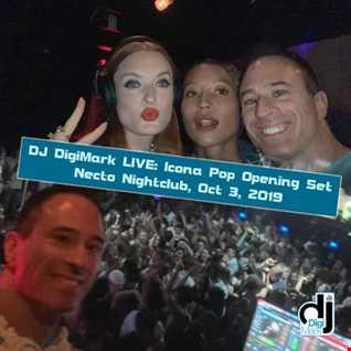 Icona Pop live opening set by DJ DigiMark Oct 3, 2019 at Necto Nightclub