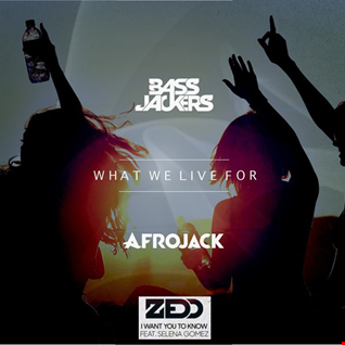 Bassjackers & Afrojack vs. Zedd feat. Selena Gomez - I Want You To Know What We Live For (Hardwell Mashup) [Dexxe Reboot]
