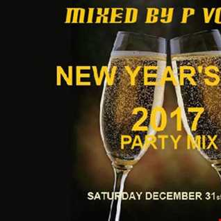 dj p vossi  - NYE 2017 PARTY MIX