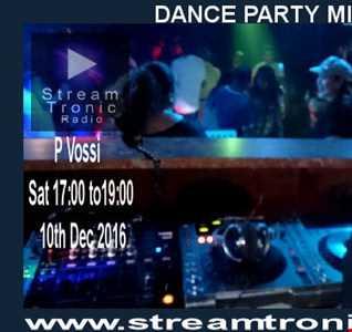 DJ P VOSSI - DANCE PARTY MIX EP 107